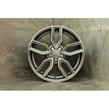 10 SPOKE V SPOKE Antrachite/Polished 5x112 18x8 ET 35 ( 660 ) GMF